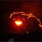 Der Lava-See im Erta Ale Vulkan (Äthiopien)