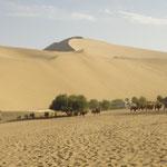 Große Düne bei Dunhuang