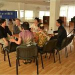 Bilder von der Familienarbeit in der neuen Beratungsstelle in Chengdu