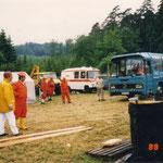 Grubenrettungsbus des Technischen-Sonderdienst aus Herne, Berufsgrubenwehr