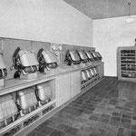 Geräteraum für Gasschutz