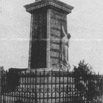Erstes Demkmal von Courrieres vor 1914