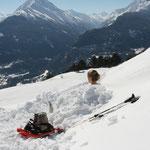 Enneigement d'une heure - 03 2014 - Vétan, Alpes italiennes