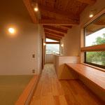 山形の家(山形村)-2階家族室