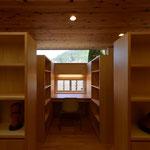 里山辺の家(松本市)-ギャラリー・ライブラリー