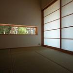 穂高有明の家Ⅲ(安曇野市)-和室(将来寝室)