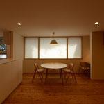 梓川の家Ⅱ(松本市)・リノベーション|居間・食堂