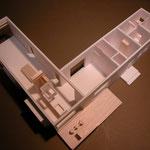 三郷の家(安曇野市)・計画模型