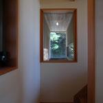 光の小住宅(安曇野市)-階段室