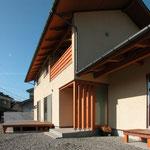 中条の家Ⅰ(松本市)-外観