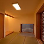 島内の家(松本市)-和室