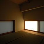 光の小住宅(安曇野市)-和室