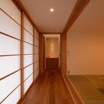 島内の家(松本市)-居間