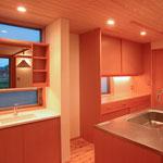 和田の家(松本市)-独立型洗面・台所