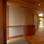 山形の家(山形村)-玄関