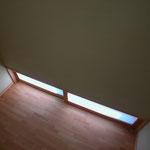 中条の家Ⅰ(松本市)-階段踊り場
