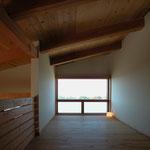 光の小住宅(安曇野市)-中2階