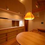 美笹山荘(佐久市美笹高原)-居間・食堂