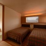 島内の家(松本市)-寝室