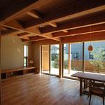 高田の家(長野市)-居間・食堂