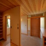 里山辺の家(松本市)-玄関