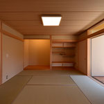 里山辺の家(松本市)-和室