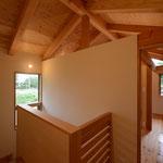 三郷の家Ⅳ(安曇野市)-階段ホール