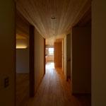 里山辺の家(松本市)-廊下・ギャラリー