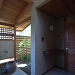 波田の家(松本市)-外観アプローチ