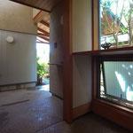 波田の家(松本市)-玄関~ポーチ