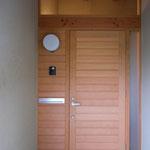 高田の家(長野市)-玄関ポーチ