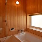 里山辺の家(松本市)-浴室