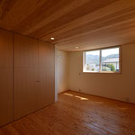 里山辺の家(松本市)-子世帯寝室
