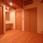 梓川の家Ⅰ(松本市)-寝室