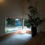 光の小住宅(安曇野市)-玄関