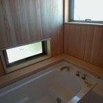 光の小住宅(安曇野市)-浴室