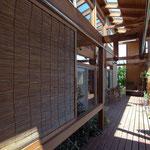 波田の家(松本市)-インナーデッキ