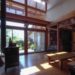 波田の家(松本市)-居間