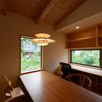 三郷の家Ⅳ(安曇野市)-食堂