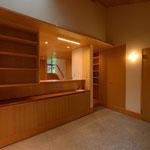 明野の家(山梨県北杜市)―玄関土間