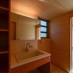 明科光の家(安曇野市--洗面脱衣室~浴室