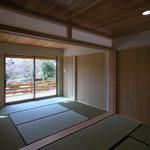 カフェあくら(松本市)-住居部分和室