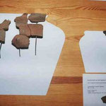 Keltenfunde aus der Fentbachschanze (Leihgabe Prähistorische Staatssammlung München)