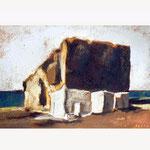 Skiros, pastel, 36x52