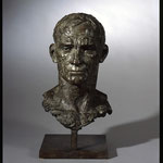 Buste d'homme, 2006, 45x23x19,