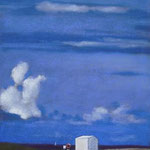 La cabine, pastel, 92 x123