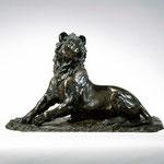 Lion, 1999, 27 x 44 x 19 cm