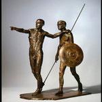 Duo de guerriers, 2010, 66x35x59 cm, édition de 4 épreuves