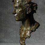 Orphée II, 2013, bronze, H.60 cm
