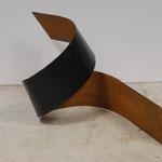 Ruban d'humeur 6, acier, h.50 cms